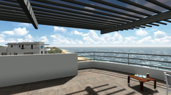 Private Rooftop Terrace - 360 Views