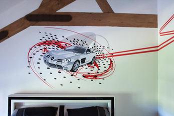 Supercars Mural