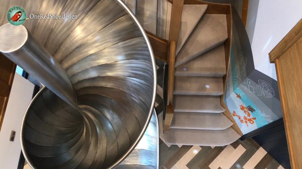 Video of Indoor Slide Mural