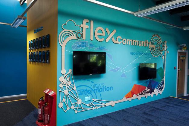 Flex Community Wall