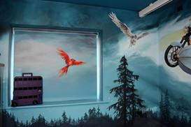 The Phoenix and Buckbeak