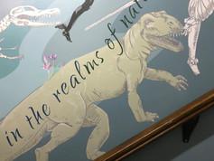 Warrington's dinosaur