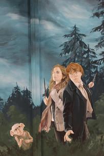 Dobby Hermione Ron