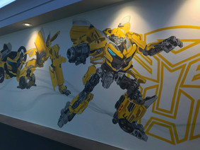 Transformer Mural Cheshire
