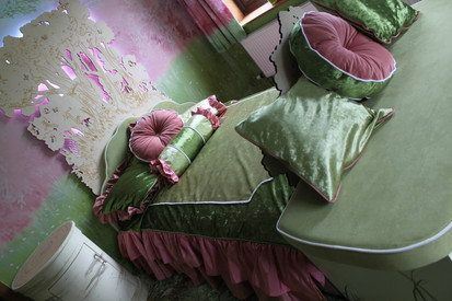 Bespoke bed and bedding design