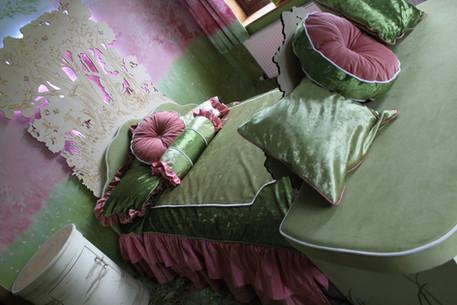 Bespoke bed and bedding design