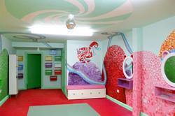 Children's Hair Salon Mural