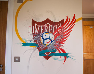 LFC Mural Bedroom