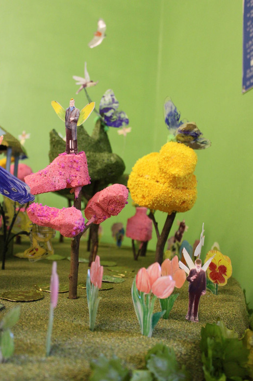 Community Art Workshop Exhibit