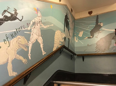 Museum Entrance Mural