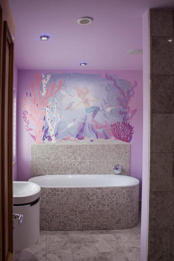 Mermaid Ensuite Mural