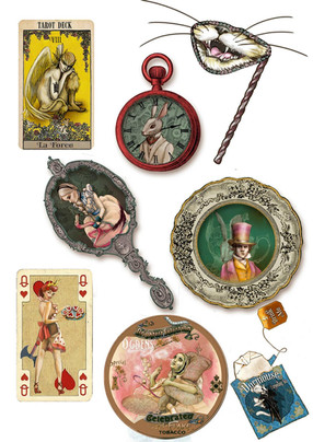 Alice's Adventures In Wonderland-Designs