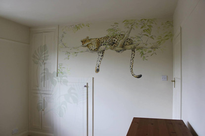 Safari Sketchbook Mural