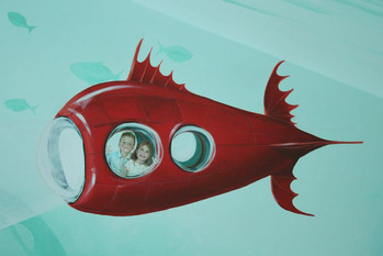 Children in Submarine