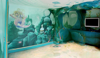 Atlantis Mermaid Theme Room
