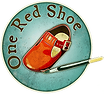 one red shoe murals