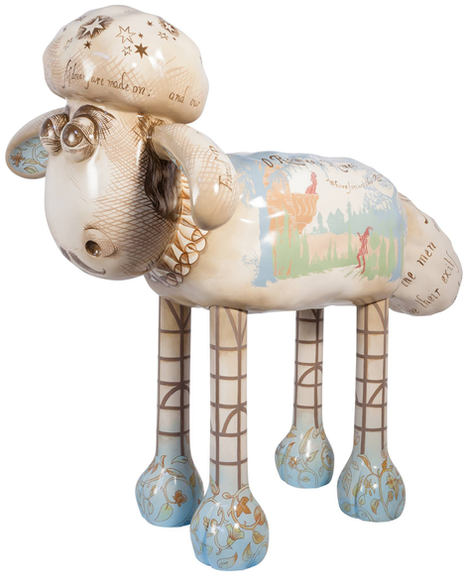 Shaun The Sheep For Shakespeare's Globe & Beatrix Potter