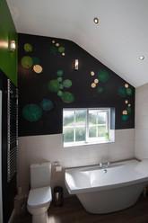 Waterlily Bathroom Mural
