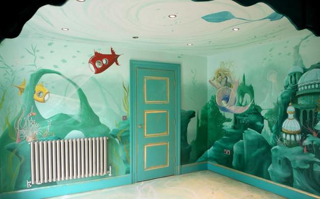 Underwater Theme Interior
