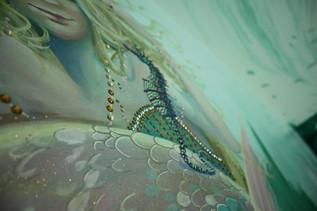 cheshire seahorse mural