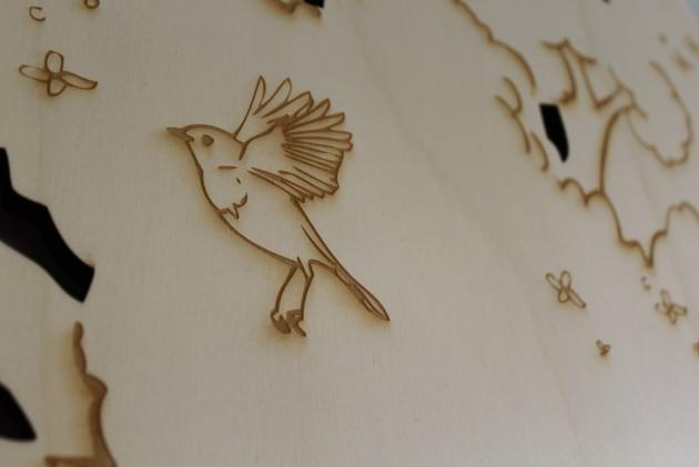 laser-etching on birch ply