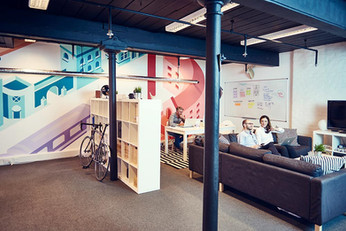 Boomerang Office Mural