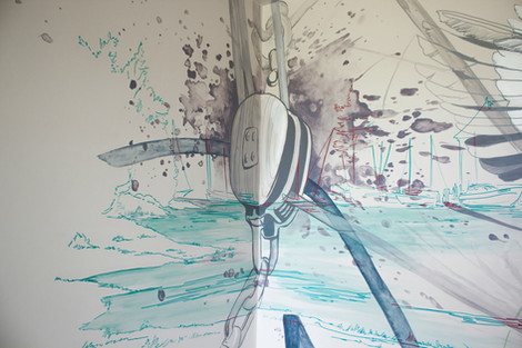 Yacht Rigging Painting