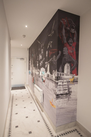 Bespoke Liverpool Wallpaper Mural
