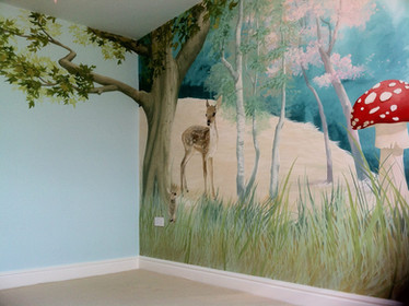 Forest Feature Wall
