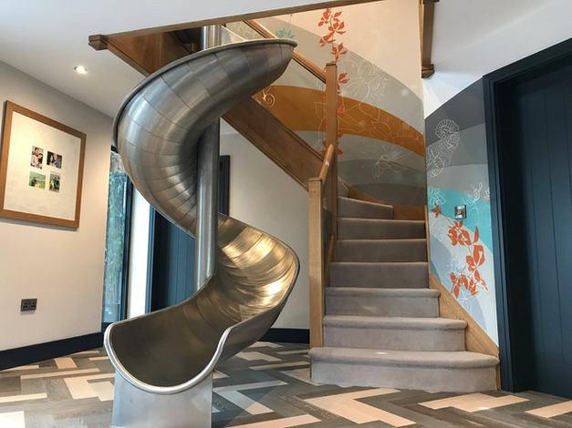 Indoor Slide Mural