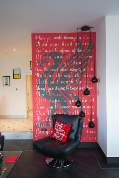 Bespoke LFC Wallpaper Mural