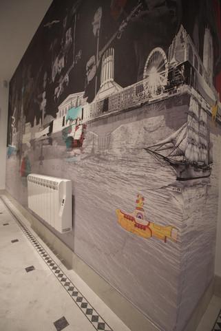 Bespoke Liverpool Wallpaper Mural