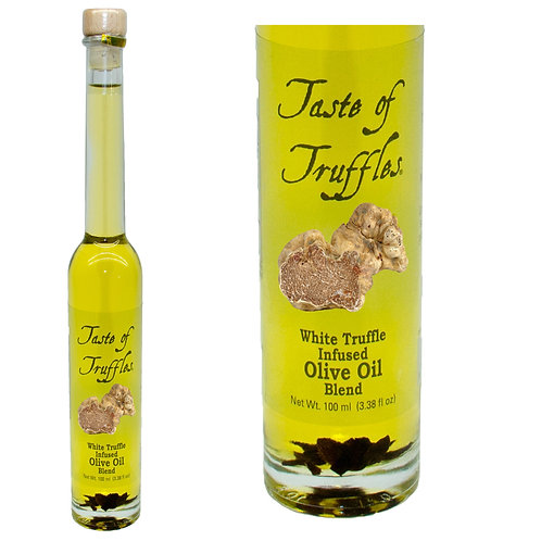 White Truffle Infused Olive Oil Blend 3.38oz/100ml.