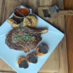 Truffle Rib Eye Steak
