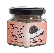 Black Truffle Himalayan Pink Salt 14%  - 3.5 oz