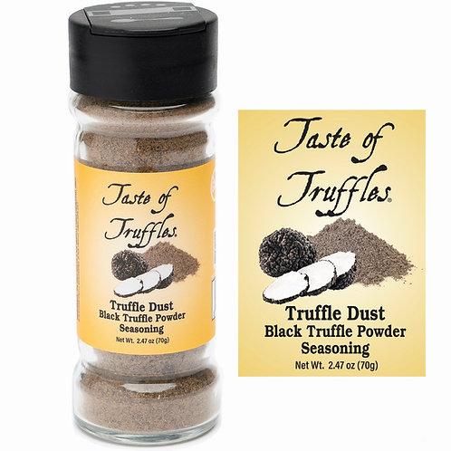Truffle Dust   Black Truffle Powder Seasoning Wt. 2.47oz (70g)