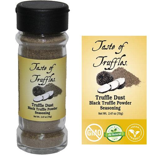 Truffle Dust | Black Truffle Powder Seasoning Wt. 2.47oz (70g)