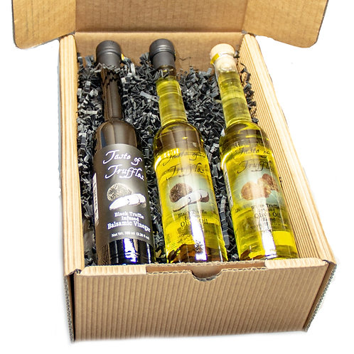 Truffle Oils & Vinegar Gourmet Collection