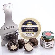 BLACK TRUFFLE CHEFS DINNER KIT - Fresh Summer Black Truffles 2 oz