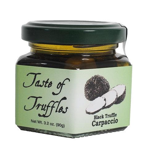 Black Truffles Carpaccio (Sliced Truffles) - 3.2 oz