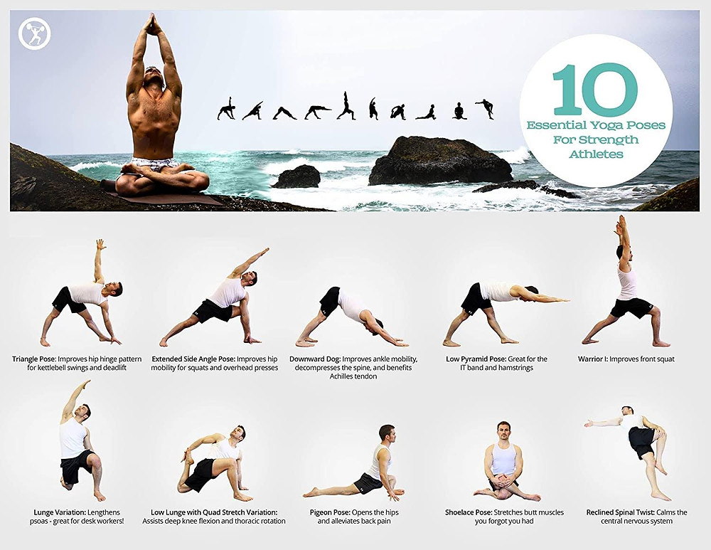 Image of 10 yoga stretches for strength
