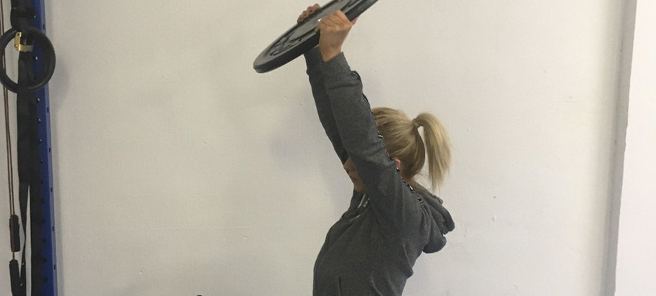 Lady core exercises