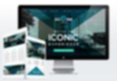 Eola Park Centre website mockup