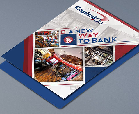 Capital One Marketing Collateral