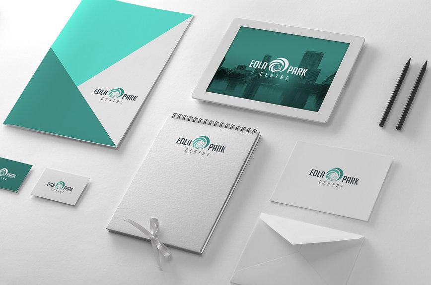 Eola Park Branding Mockup