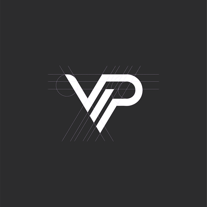VIP Salon & Spa logo grid