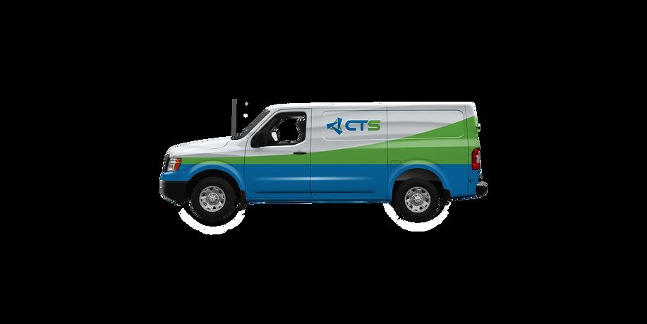 CTS work van