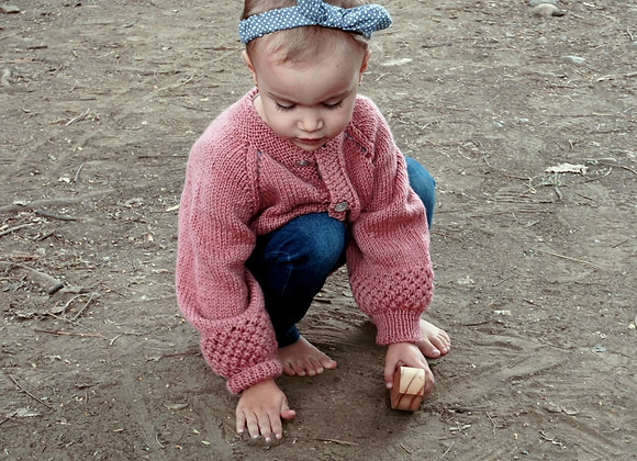 Knotted Cardigan