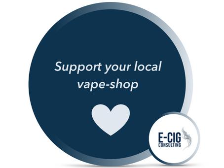 Support your local vape-shop! Hilf Deinem lokalen Offi!