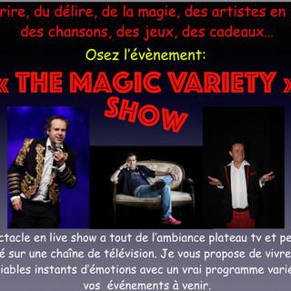 présentateur pro animateur micro divertissement TV spectacle comique avec cadeaux pour entreprise loire atlantique 44, 85, Angers 49 cholet, Nantes, La rochelle niort ...